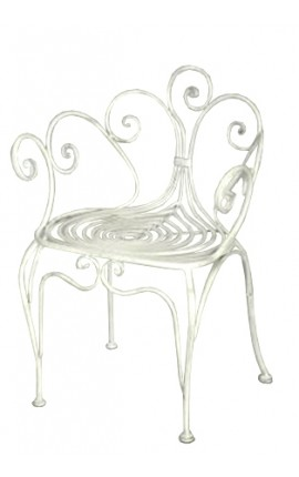 Nos mobiliers de jardin en fer forg voici nos chaises en fer forg table en - Coiffeuse en fer forge ...