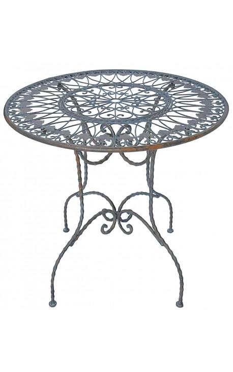 """Обеденный стол из кованого железа. Коллекция """"Ярь-медянка"""""""