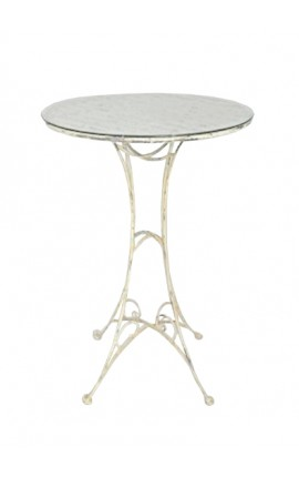 "Wrought iron bar table. Collection ""Elegance"""