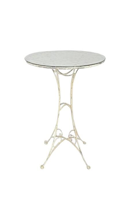 table de bar en fer forg collection el gance. Black Bedroom Furniture Sets. Home Design Ideas