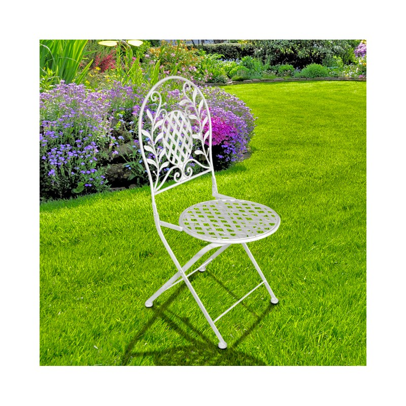 Folding Chair In Wrought Iron Collection Quot Olivier Quot