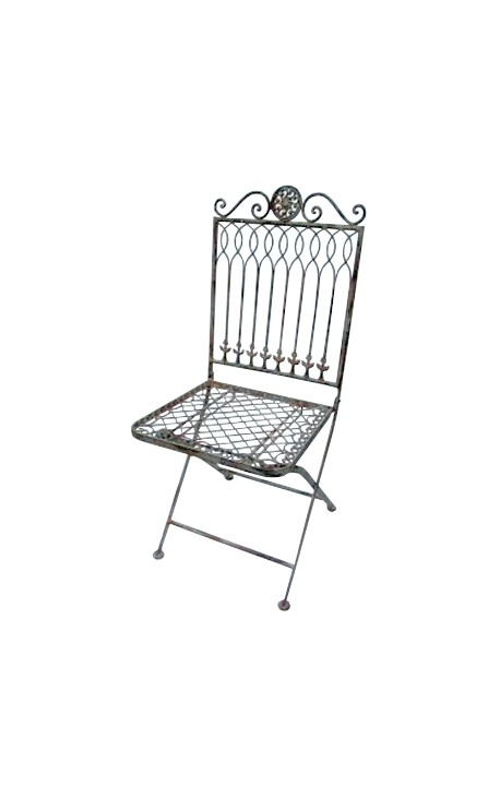 Folding Chair In Wrought Iron Collection Quot Recamier Quot