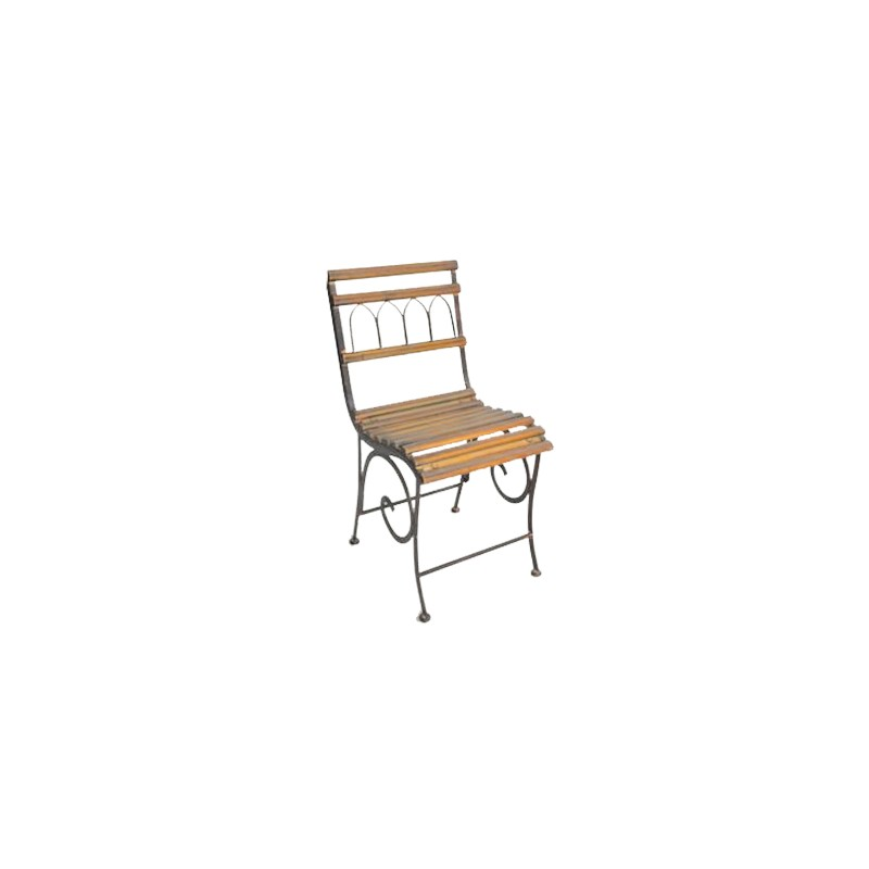 Wrought Iron Chair Collection Quot Pompadour Brown Quot