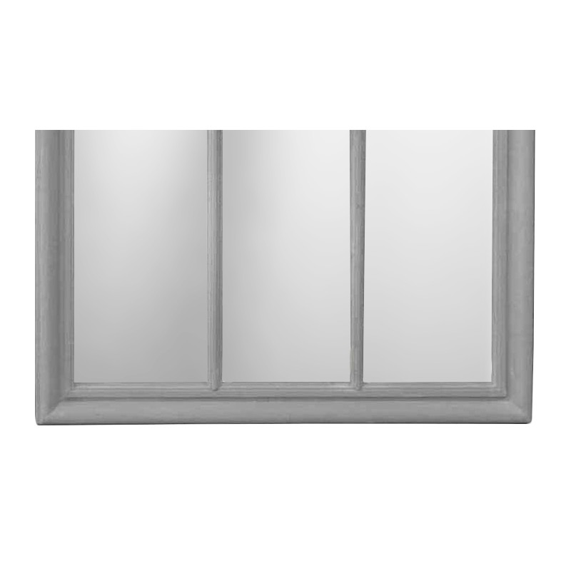 grand miroir pareclose gris patin de style gothique