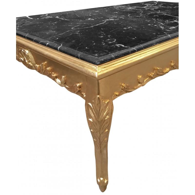 Table basse bois noir d coration de maison - Grande table basse en bois ...