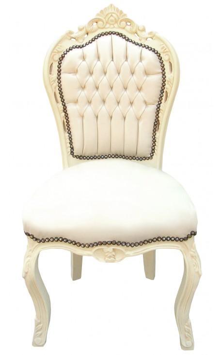 chaise cuir beige chaise en cuir beige chaise davi cuir beige fauteuil de bureau en cuir beige. Black Bedroom Furniture Sets. Home Design Ideas