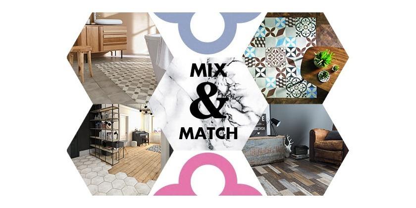 Tendance : les sols en mode Mix & Match