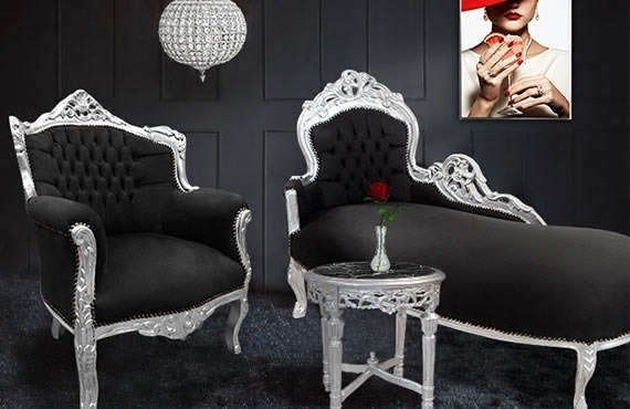 The decoration in a boudoir's spirit