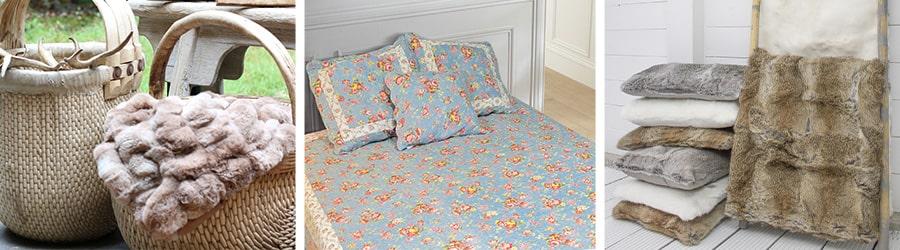 Bedspread & throw