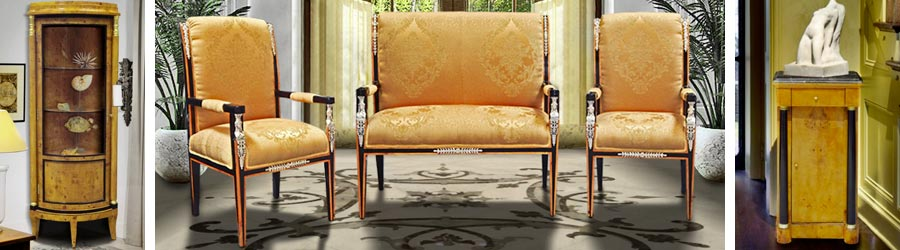 French Empire style Furniture