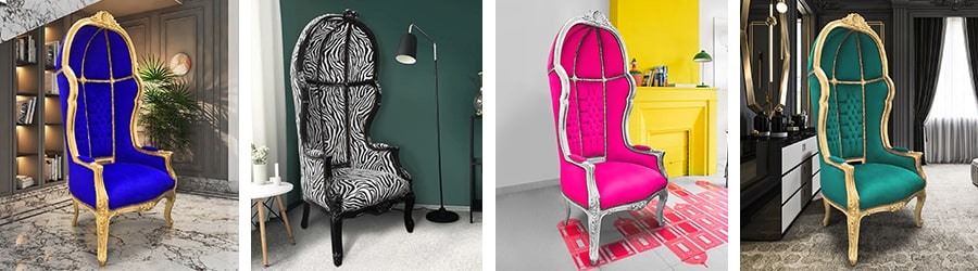 Кресла барокко перевозки