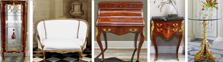 Mobilier de style Louis XV