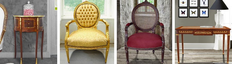 Louis XVI style furniture