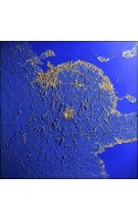 Frames with fabric backdrops