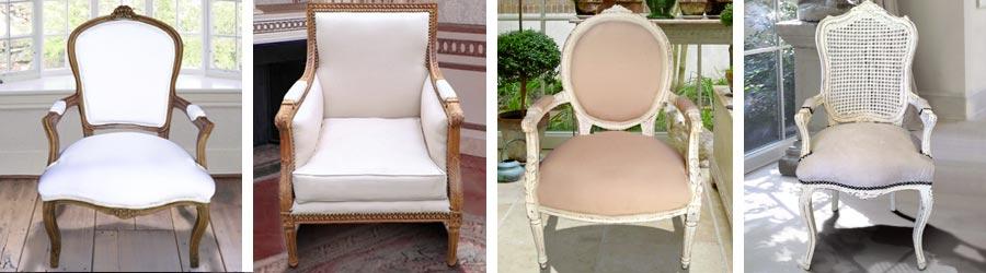 Notre gamme de fauteuils de style campagne chic royal for Mobilier de charme chic campagne