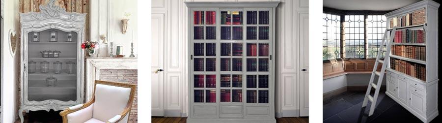 Bibliothèques, Vaisseliers & Amoires