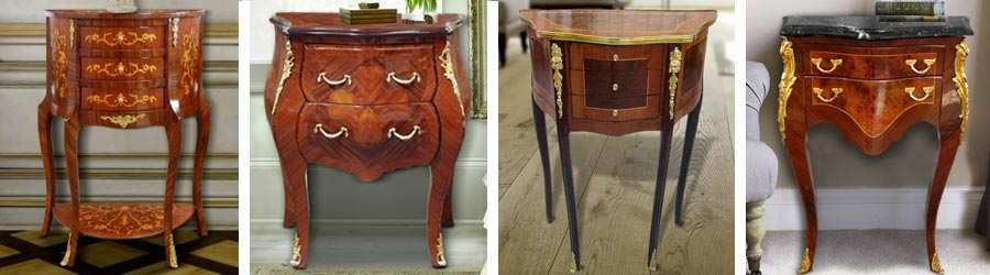 Commode and bedside