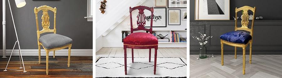 Harp chairs