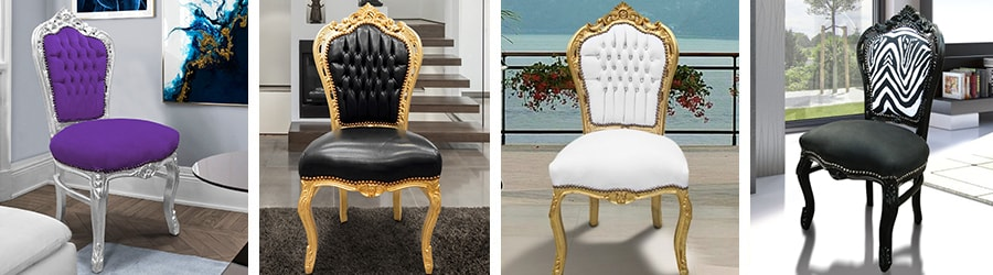 Chairs baroque rococo