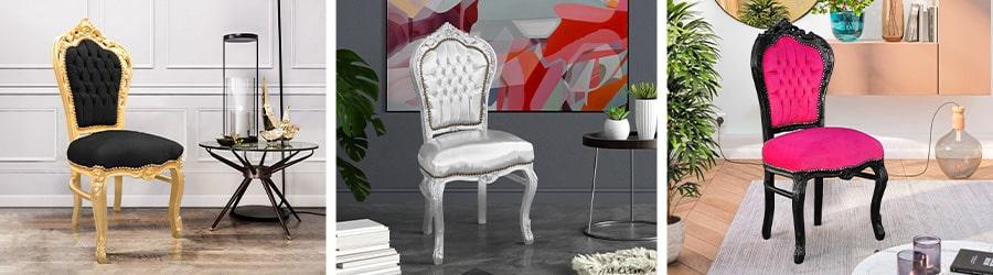 Chaises baroque rococo