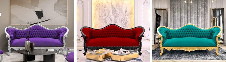 Napoléon III sofas