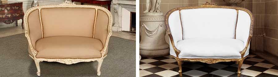 Louis XV sofas