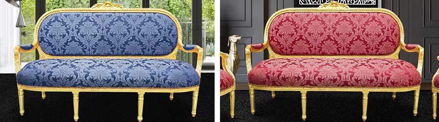 Louis XVI sofas