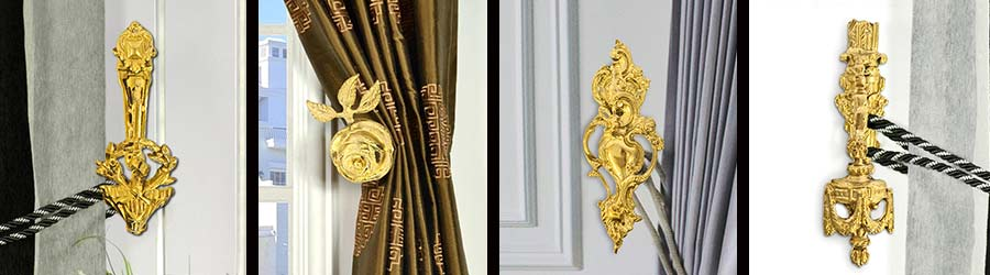 Porte-embrasses en bronze