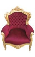 Fauteuils Baroques modèle royal