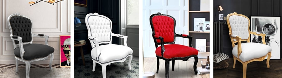 кресла в стиле Louis XV