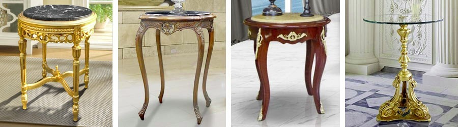 Side tables and flower tables