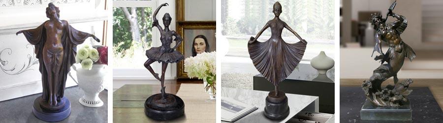 Бронзовые статуи