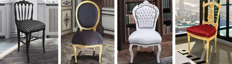 Chaises baroques