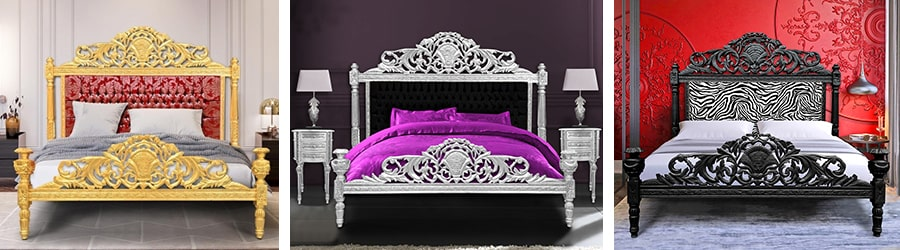 lits baroques 2 royal art palace international. Black Bedroom Furniture Sets. Home Design Ideas