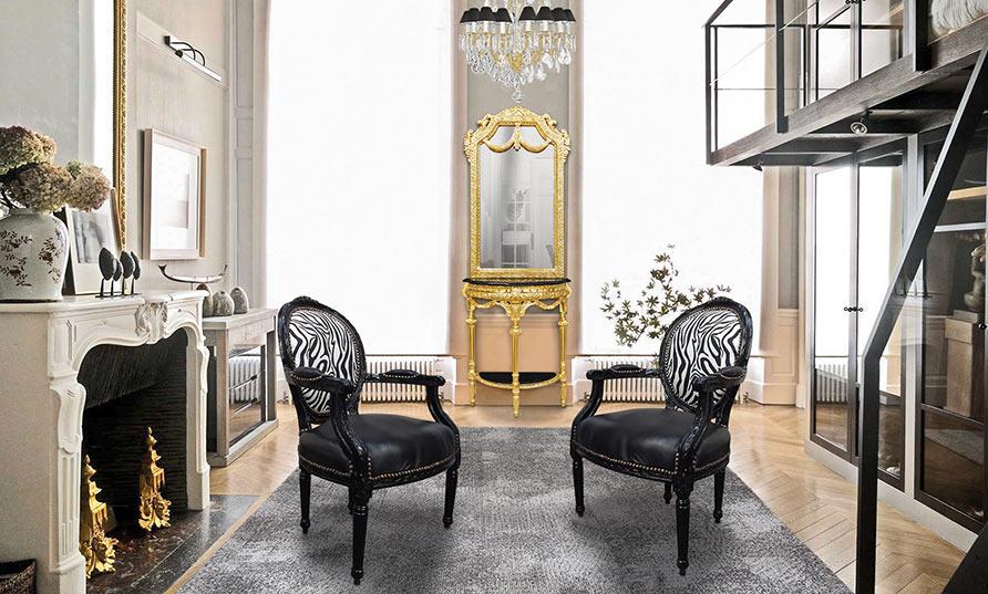 ... demi-lune et son miroir ainsi que le lustre en verre Royal Art Palace