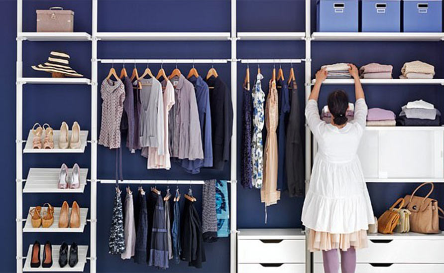 6 tips for organizing dressing room