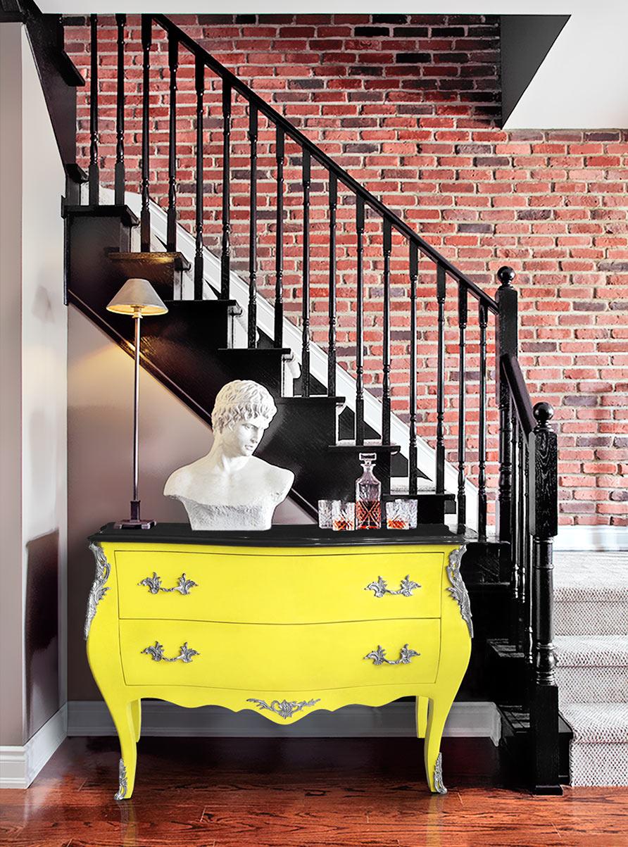 le mur en briques c est chic. Black Bedroom Furniture Sets. Home Design Ideas