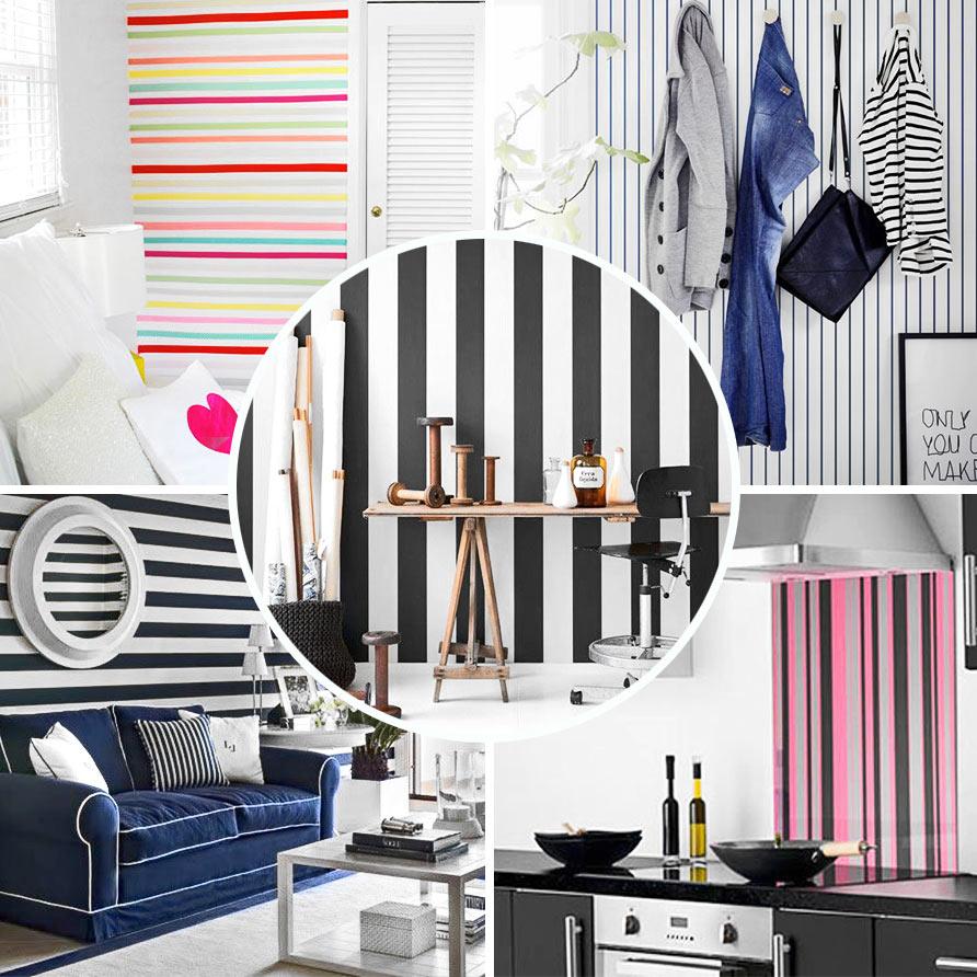 Comment Faire Des Rayures En Peinture Sur Un Mur what if you adopt the decorative stripe ?