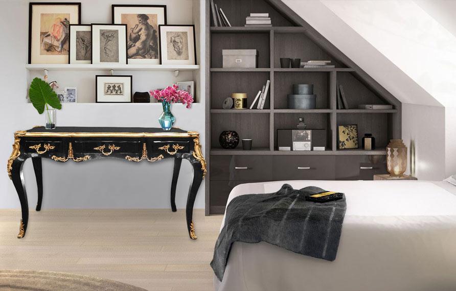 de belles id es pour am nager un joli coin bureau chez soi. Black Bedroom Furniture Sets. Home Design Ideas