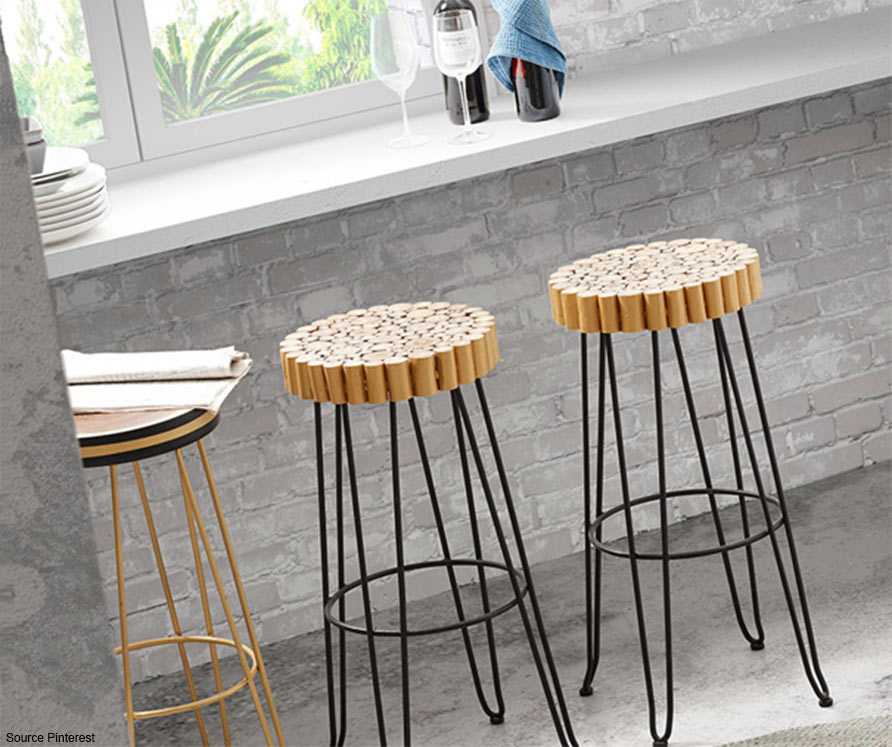 Take Height With Our Bar Chairs