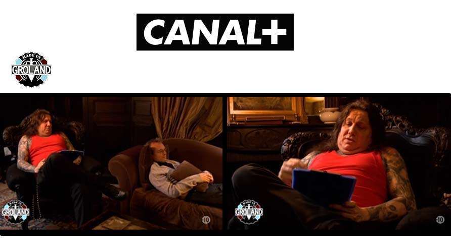 Canal + mobilier Royal Art Palace