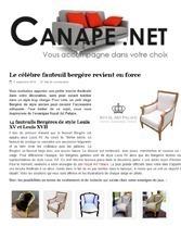 Canape.net Le célébre fauteuil bergere revient en force royal art palace