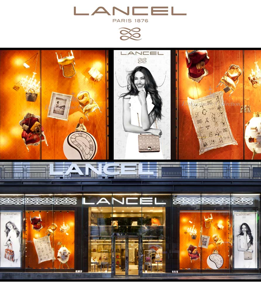 Vitrine Lancel mobilier Royal Art Palace