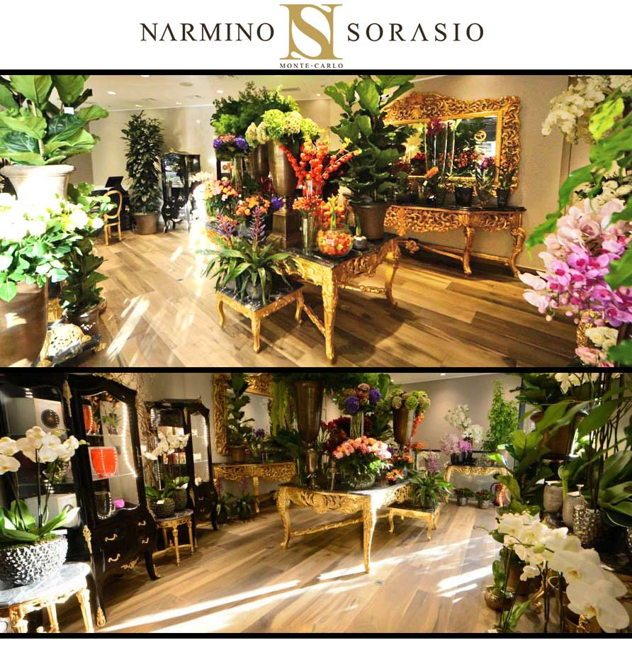 Narmino sorasio mobilier Royal Art Palace