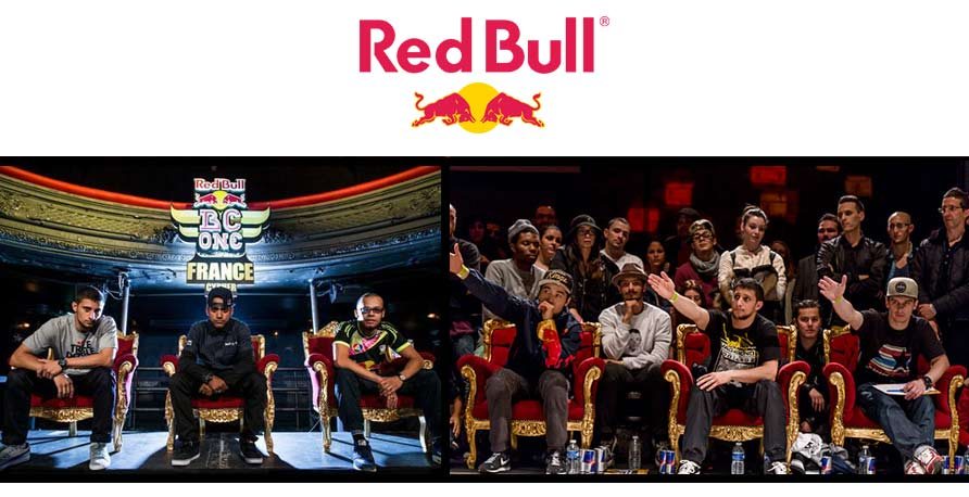 Red Bull mobilier Royal Art Palace