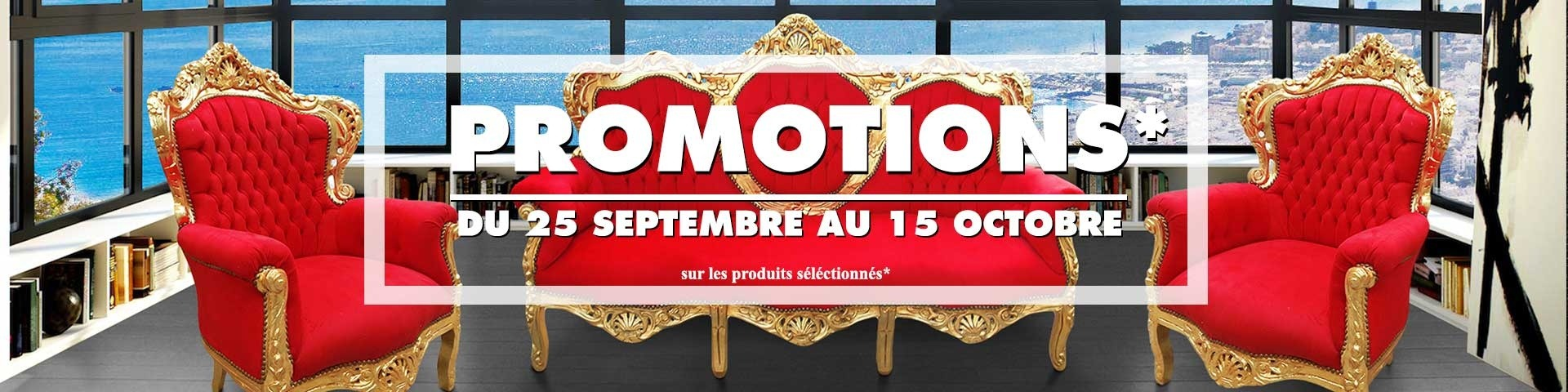 Promotions exceptionnelles Septembre 2017