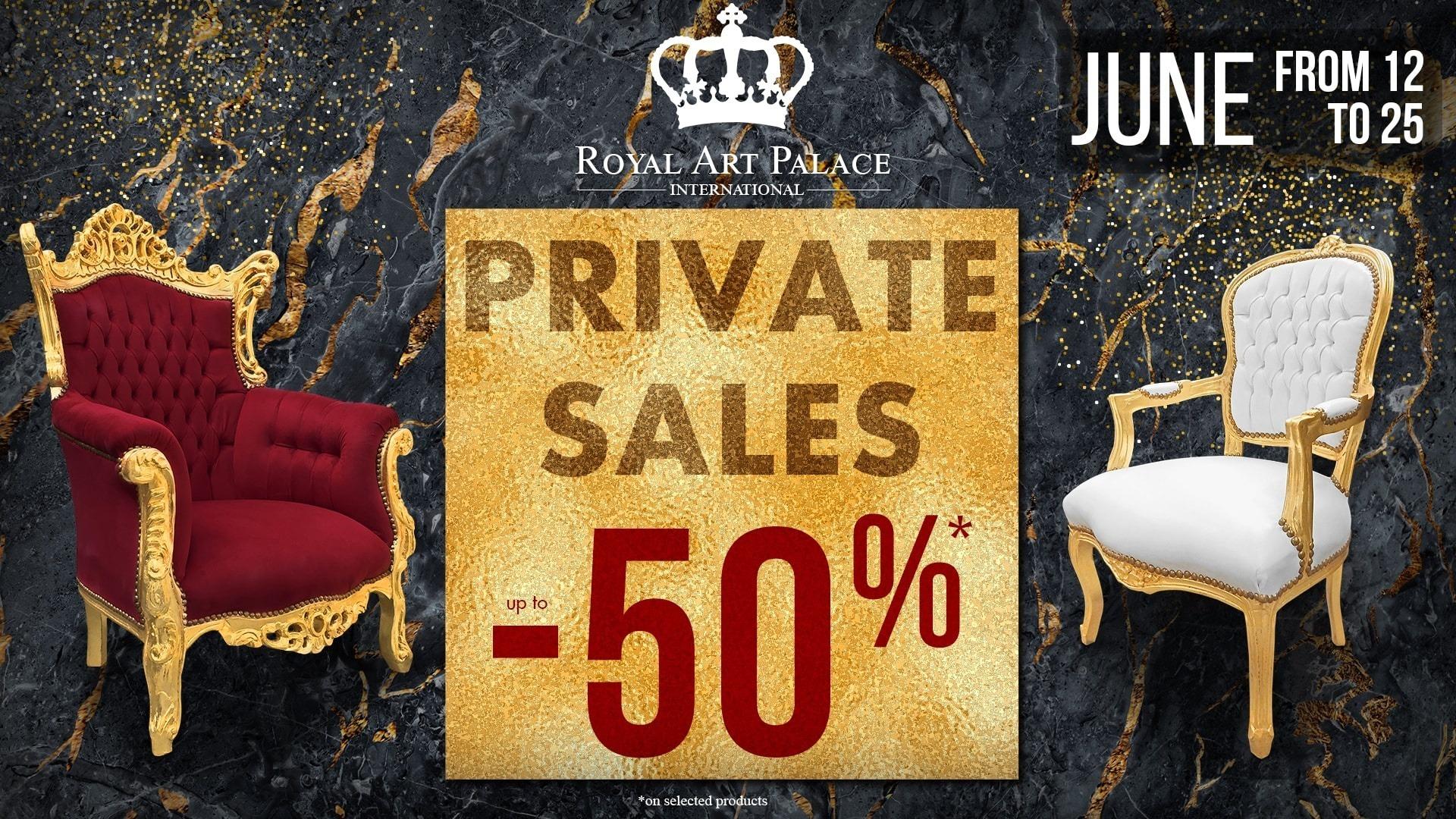 Private sales 2019