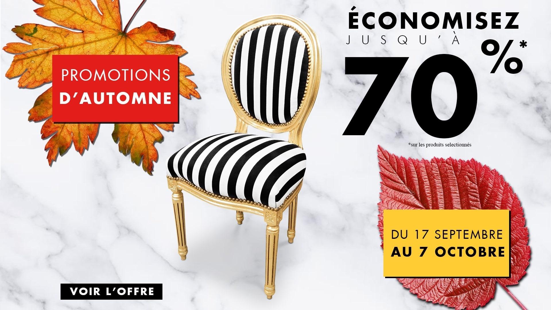 Promotions du 17/09/2018 au 07/10/2018