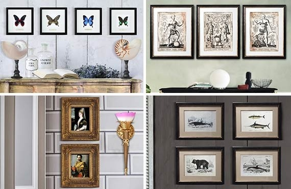 Place your decorative wall frames in style !
